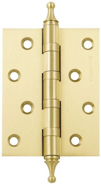 Петля  4500A (500-A4) 100x75x3 SG Мат золото Box