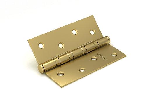 Петля  4BB/BL 100x75x2.5 SB (мат. золото) БЛИСТЕР