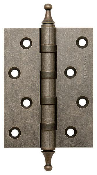 Петля  4500A (500-A4) 100x75x3 AS Античное серебро Box