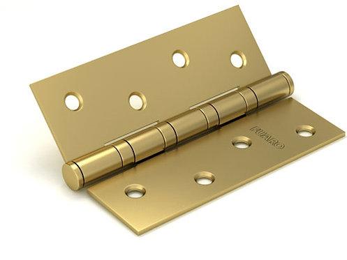 Петля  4BB/BL 125x75x2.5 SB (мат. золото) БЛИСТЕР