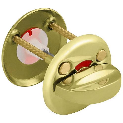 Ручка поворотная WC-001-GP (золото) подвес