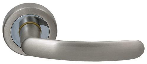 Ручка раздельная Elba (ROSET) матовый никель/хром