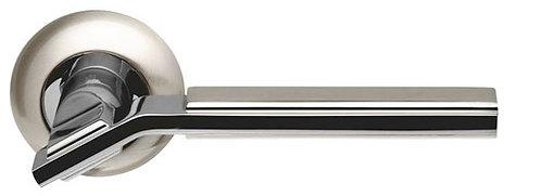 Ручка раздельная Cosmo LD147-1SN/CP-3 матовый никель/хром