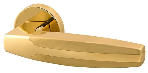 Ручка раздельная ARC URB2 GOLD-24/SGOLD-24 Золото 24К/мат золото 24К