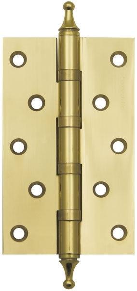 Петля  5500A (500-A5) 125х75х3 GP Золото Box