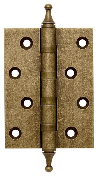 Петля  4500A (500-A4) 100x75x3 OB Античная бронза Box