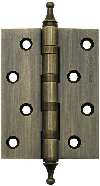 Петля  4500A (500-A4) 100x75x3 AВ Бронза Box