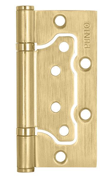 Петля  без врезки 200-2B/HD 100x2.5 SB (мат. золото)