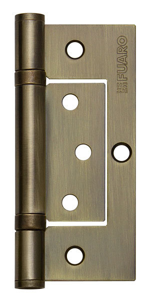 Петля  без врезки 300-2BB/BL 100x2.5 AB (бронза) БЛИСТЕР