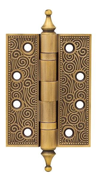 Петля  Castillo CL 500-A4 102х76х3.5 WAB Матовая бронза