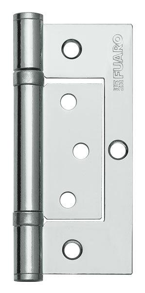 Петля  без врезки 300-2BB/BL 100x2.5 CP (хром) БЛИСТЕР