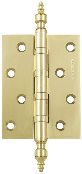 Петля  4500B (500-B4) 100x75x3 GP Золото Box