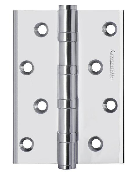 Петля  4500C (500-C4) 100x75x3 CP Хром Box