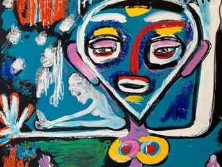 Arnaud à la Feeling Art Galerie