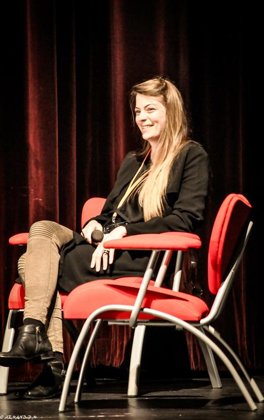 La photographe Fanny Begoin