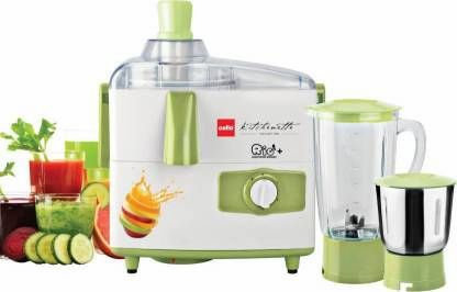 Cello RIO + Juicer Mixer Grinder 500 W Juicer Mixer Grinder ( 500W ) 2 Jar