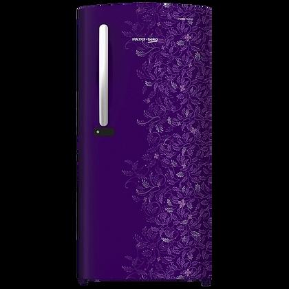 Voltas.beko 2 Star 185 Ltr Refrigerator ( Purple ) RDC205DKPEX