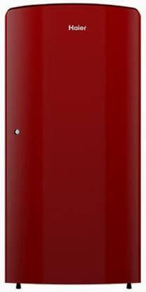 Haier 190 L 2 Star (2020) Refrigerator (Burgundy Red, HRD-1922BBR-E)