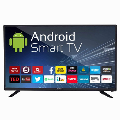 eAirtec 81 cm (32 inches) HD Ready Smart LED TV (Black)