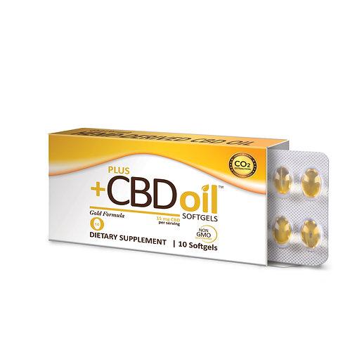 CBD Gold softgels 15mg #10