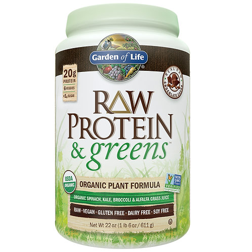 Raw Protein and Greens powder