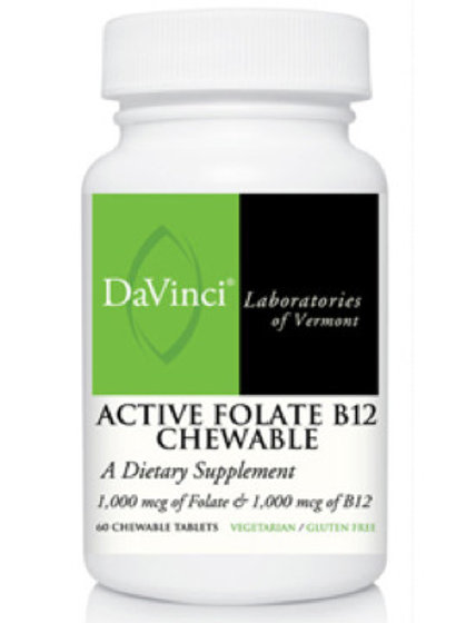 Active Folate B-12 chewable
