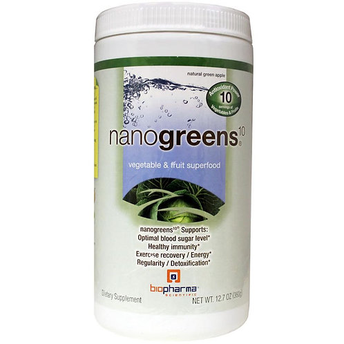 Nanogreens10 Green Apple (12.7oz)
