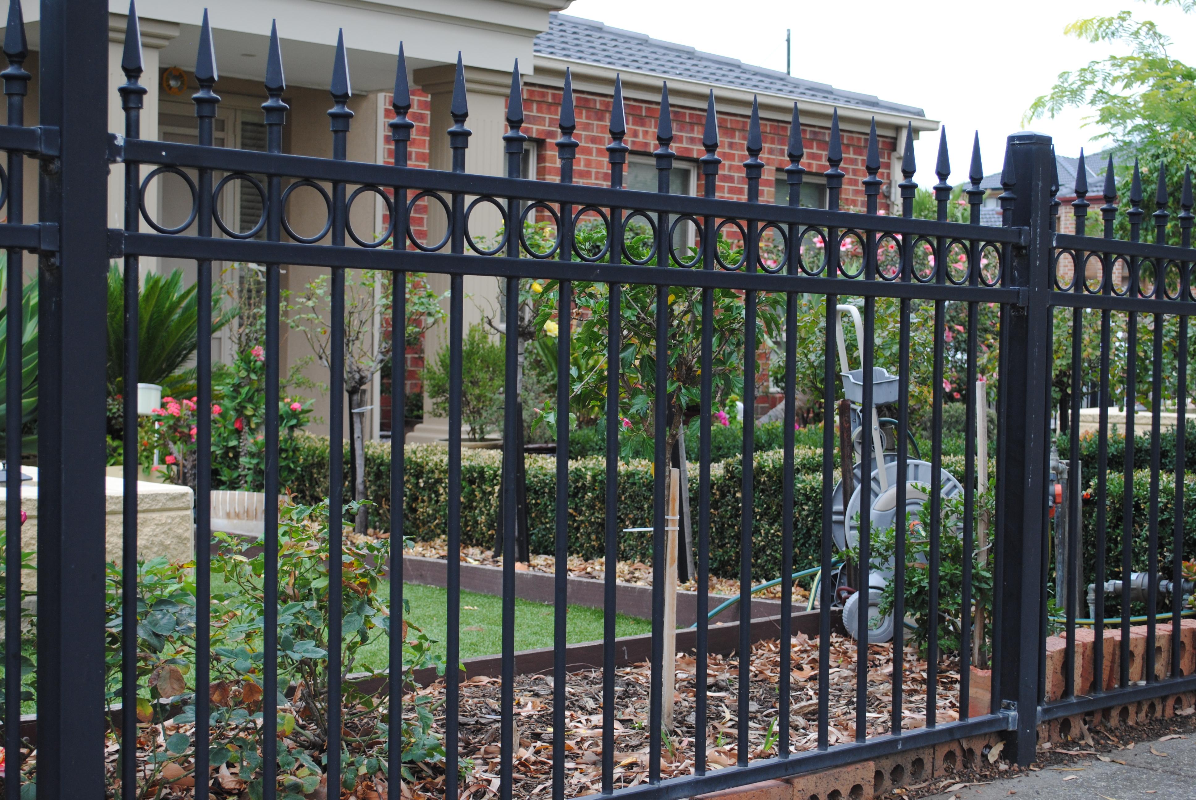 Tubular Steel Fence 4