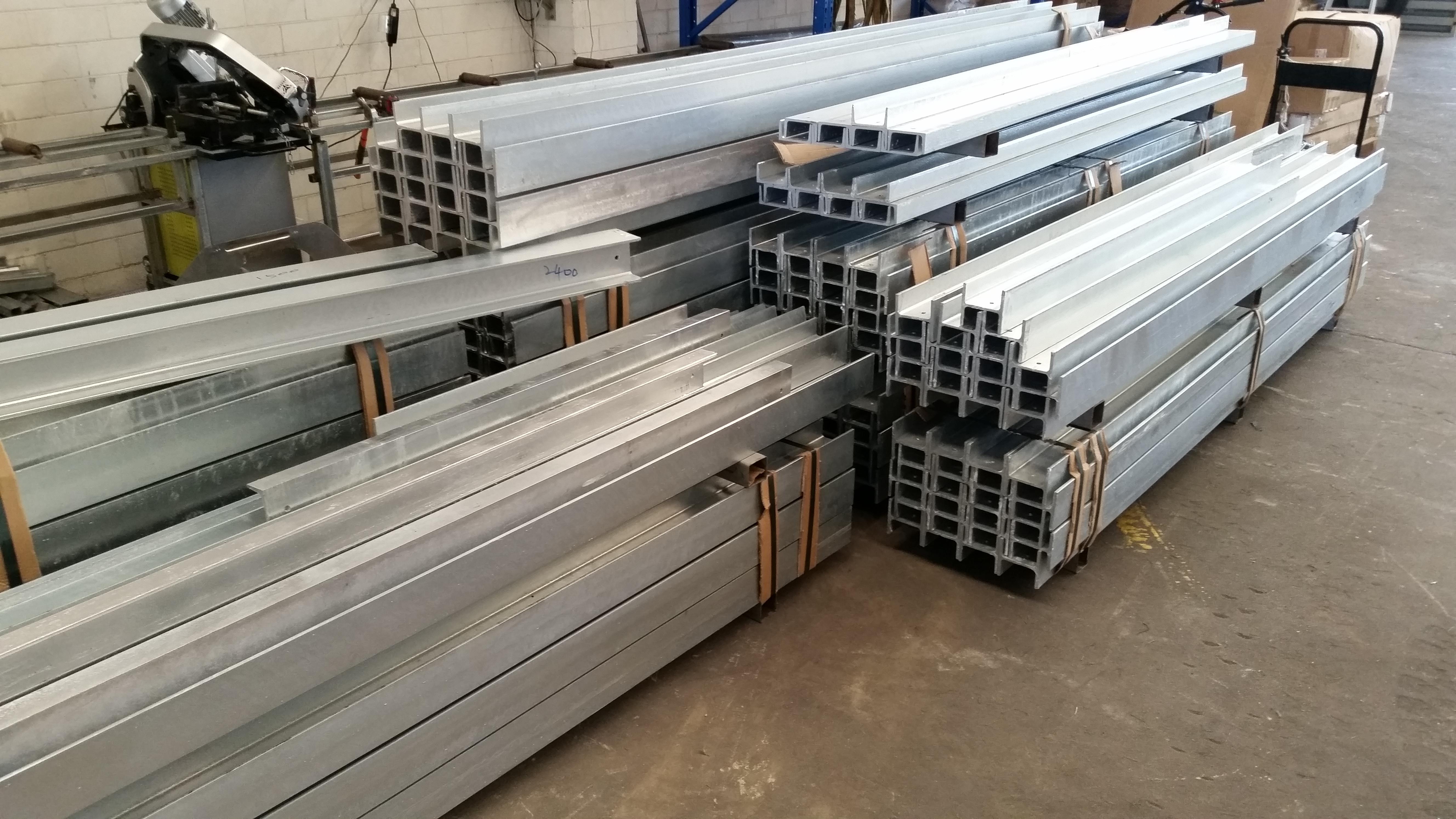 Galvanised Retaining Wall Steel