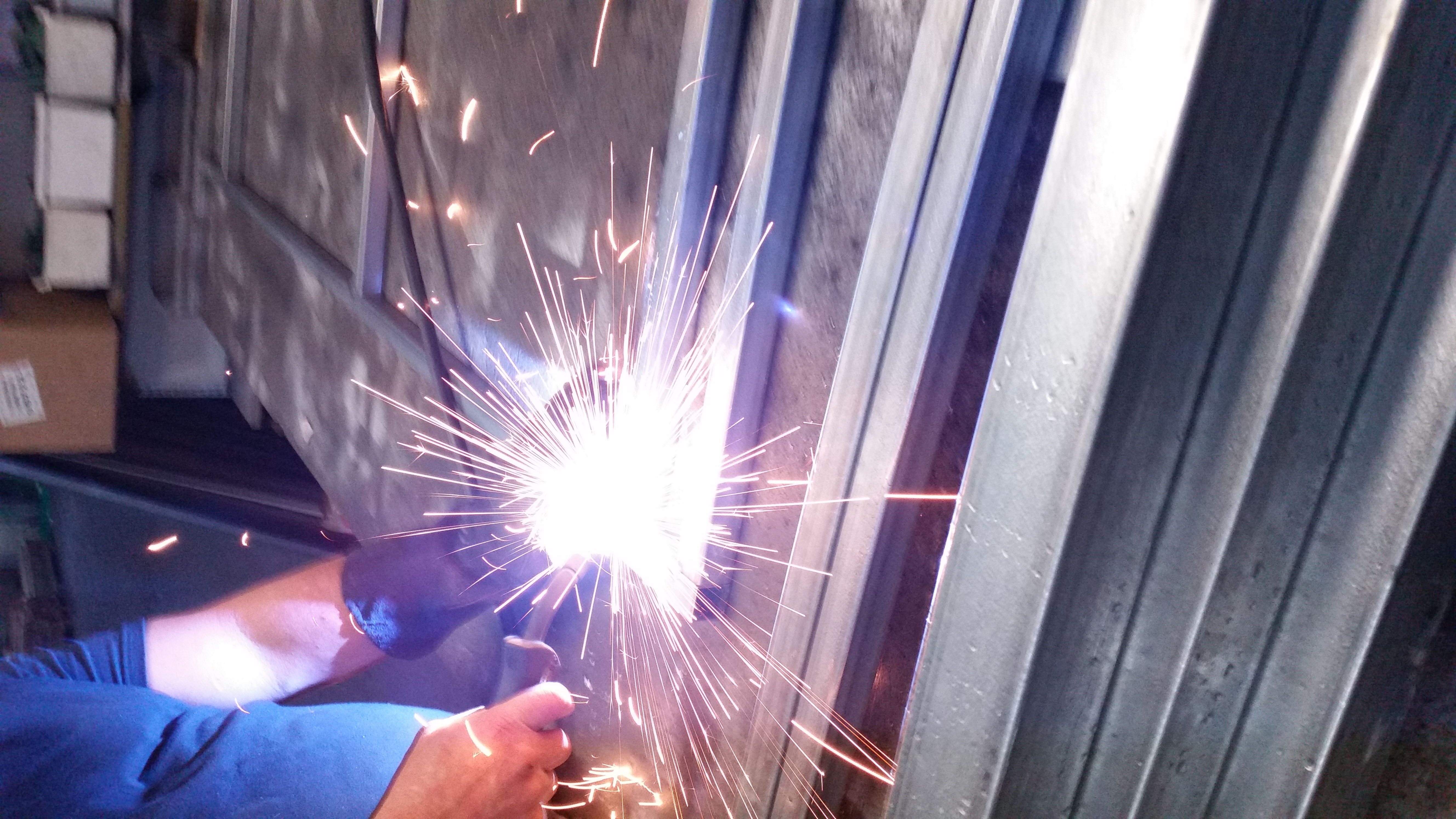 In House Welding for Gates