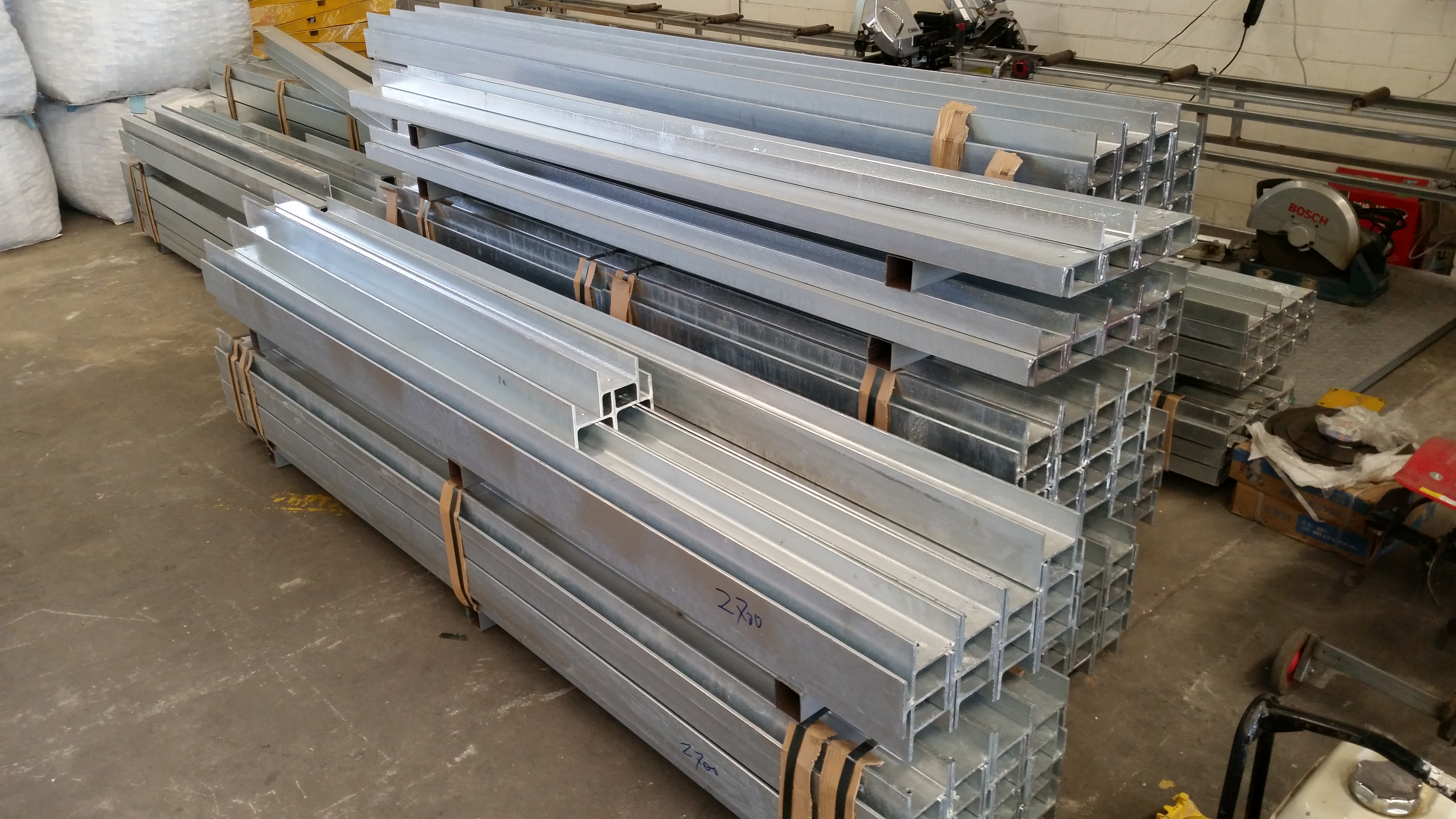 Retaining Wall Steel