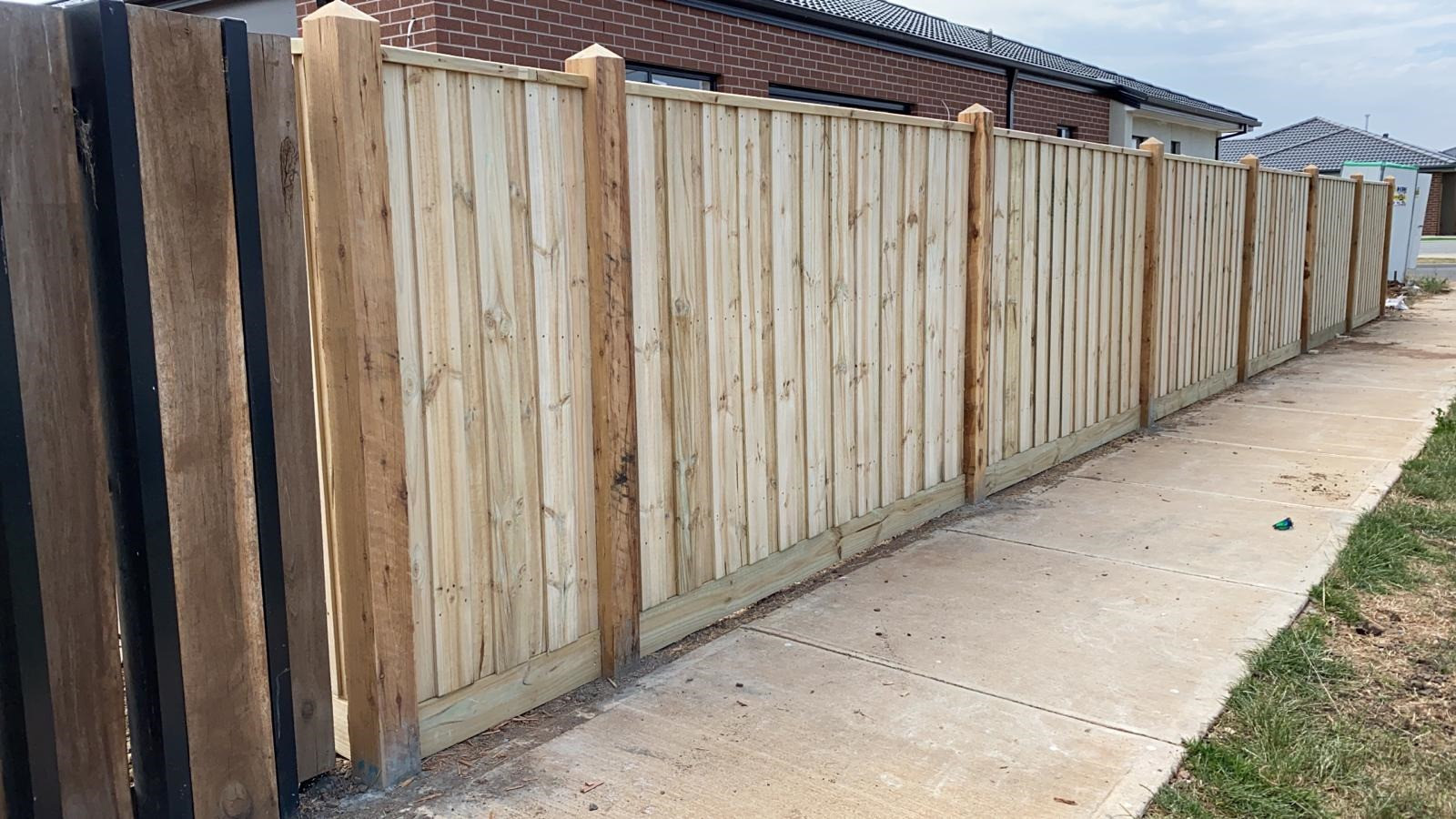 Timber Fence