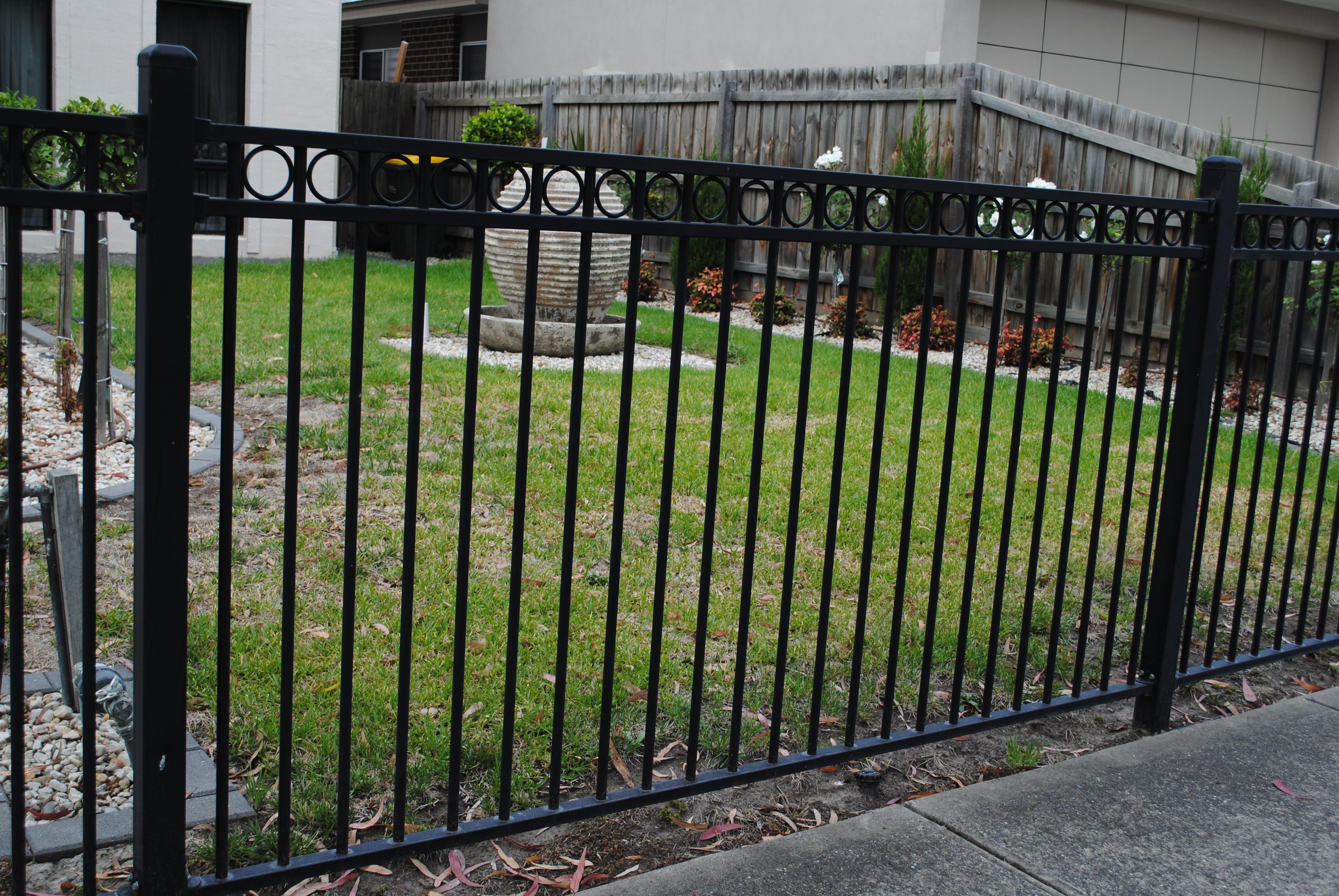 Tubular Steel Fence 2