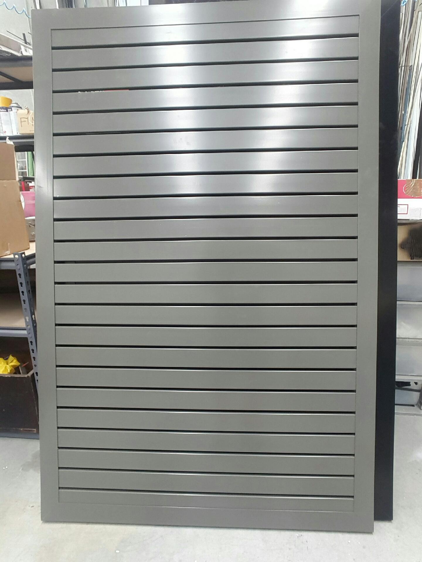 Woodland Grey Aluminium Slats