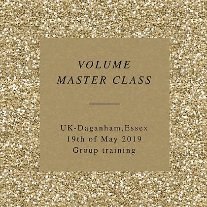 Volume Master Class in Group £400,-