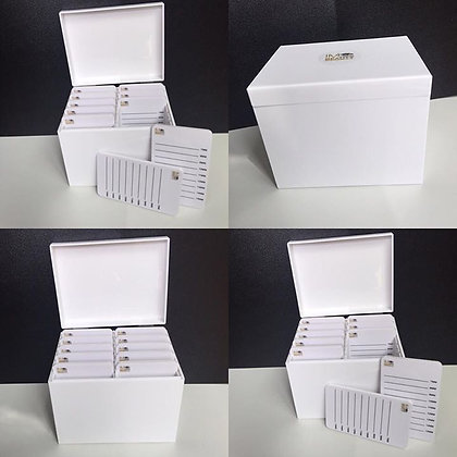 10 Lash pallets and box