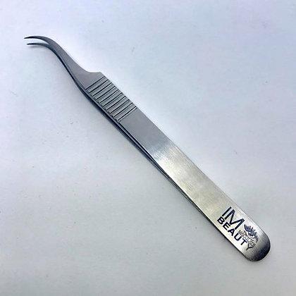 """Silver Volume Tweezers """"IM"""""""