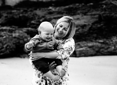 Don't count the days, make the days count - Cornwall family photographer