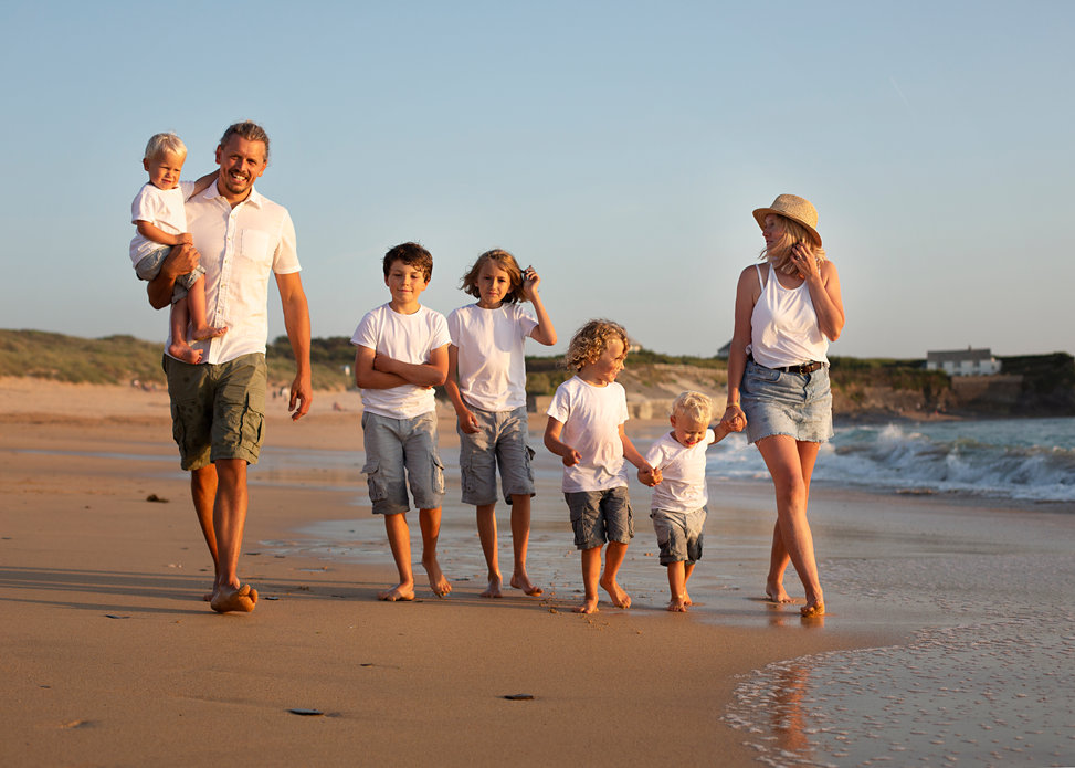 Family photographer Cornwall