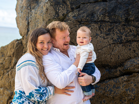 St Ives family photographer Cornwall