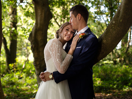 Dom and Abbi's Cornish Wedding - Woodland Valley Farm