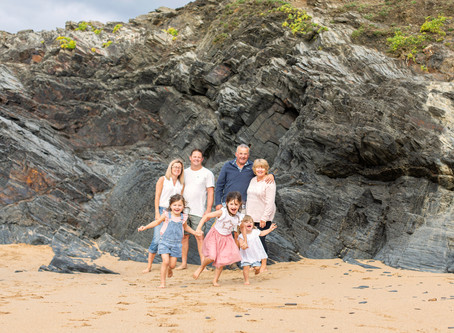 Why it is important to book a family photo shoot in Cornwall.