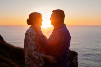 Engagement photo shoot North Cornwall