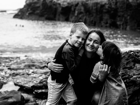Celebrate love, capture connection and make memories - Cornwall family photographer.
