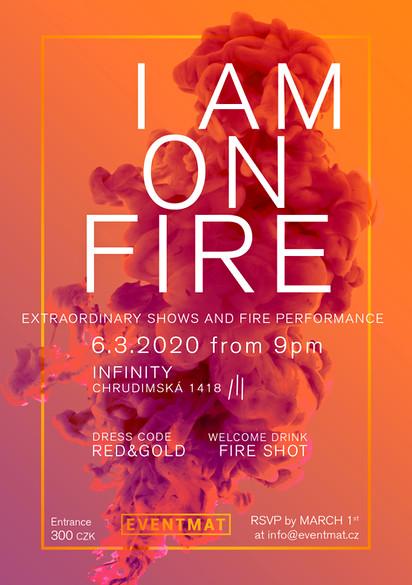 I am on fire