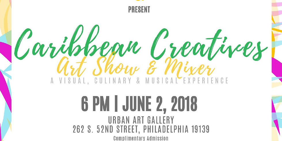 Caribbean Creatives art show & mixer