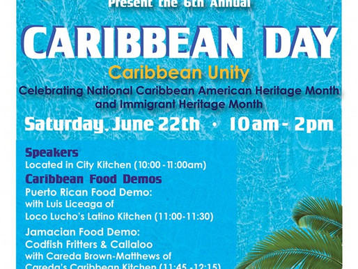 Celebrate Caribbean American Heritage Month at the 6th Annual Caribbean Day!
