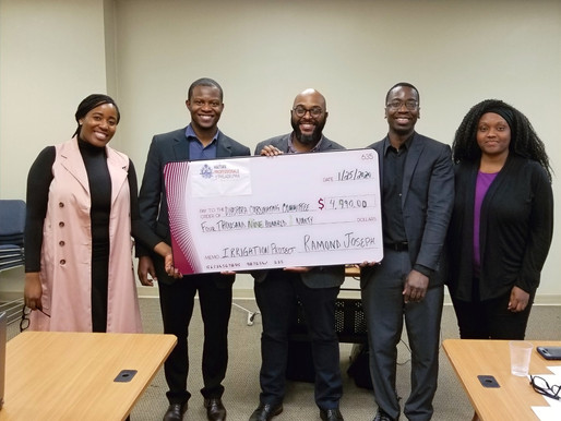 2019 HPP Haiti Relief Fund Grant awarded to Dyaspora Coordinating Committee