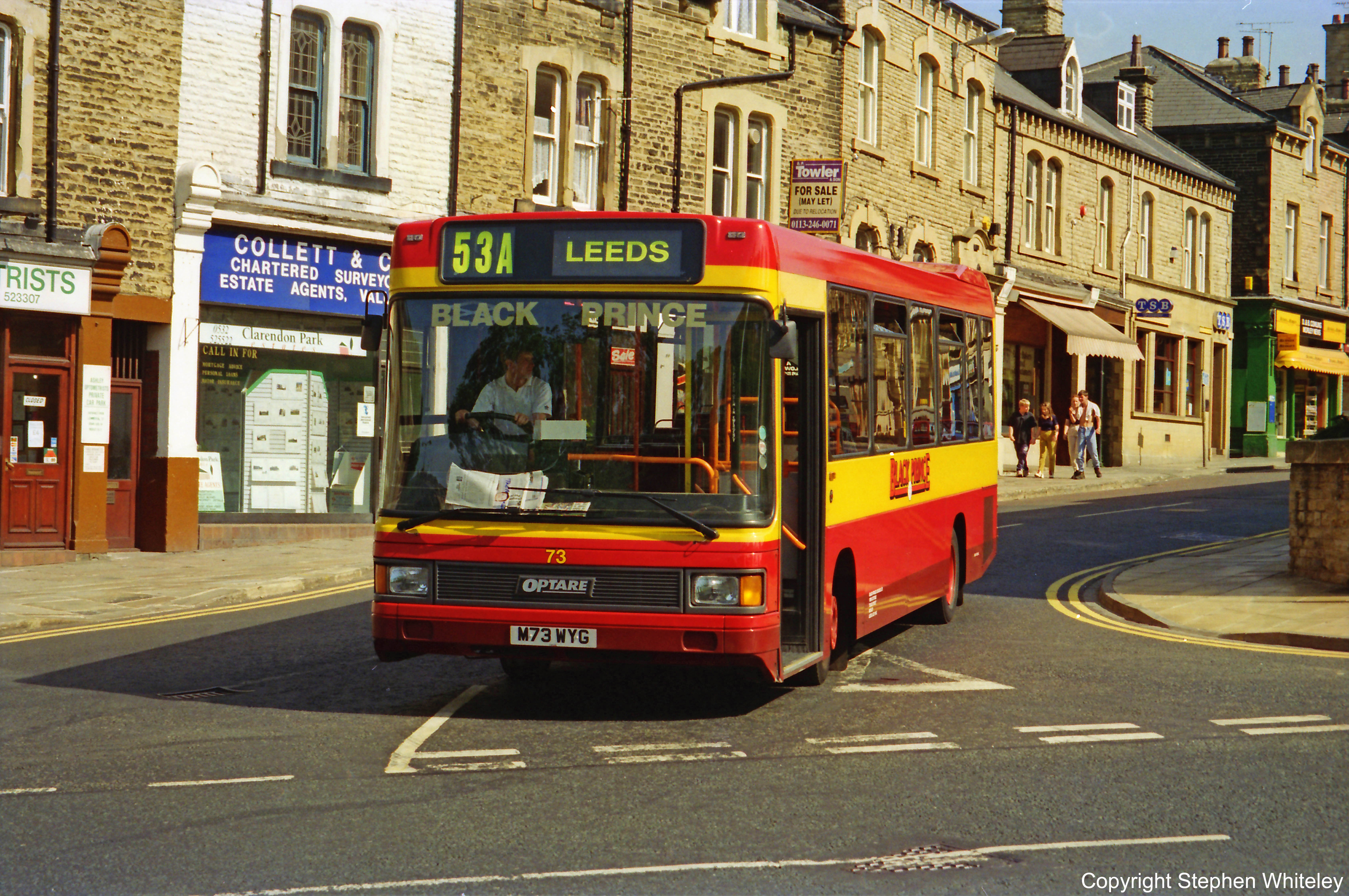 A brand new 73 departs Morley 7/95