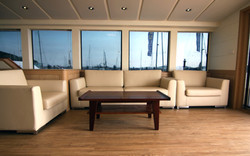 Sofa & Table for Super yacht